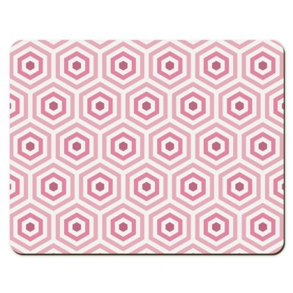 Geo Pink Placemats