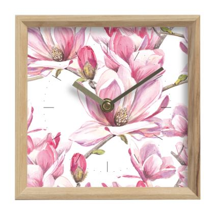 Magnolia Mantle Clock
