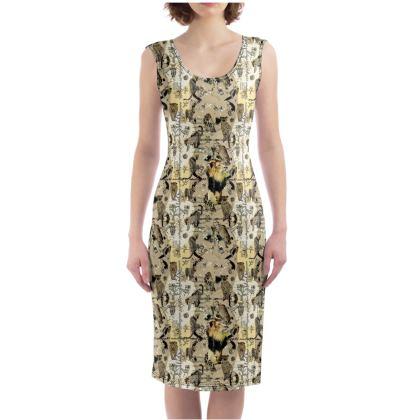 225,- Bodycon Dress RIVA size XL