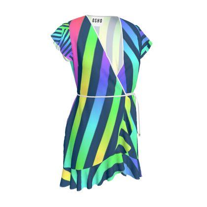OSHO Tea Dress - Bold Strip