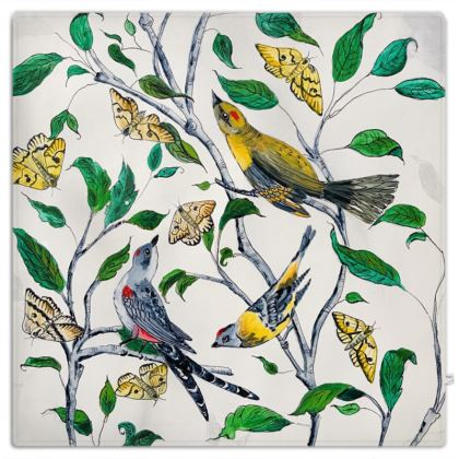 3 Birds Designer Picnic Rug