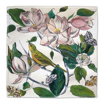 Design Birds + Butterflies napkins
