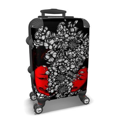 Open Face Geisha Suitcase