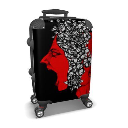Scream Face Suitcase