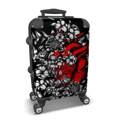 Red Heart Suitcase