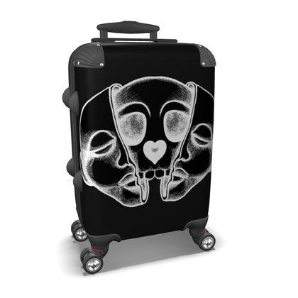 Open Face Suitcase