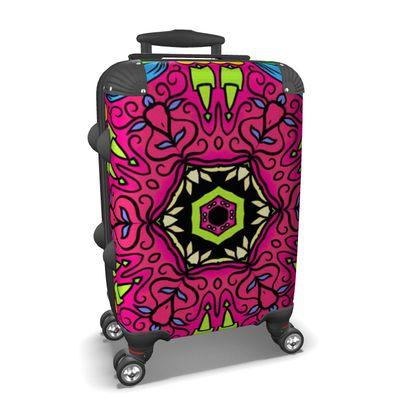 Mandala 4 Suitcase