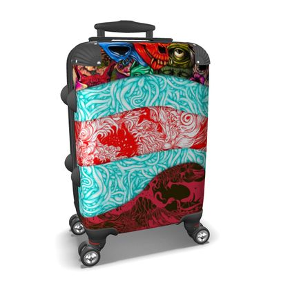 Stripes Suitcase