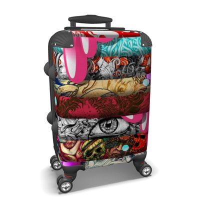 Stripes 2 Suitcase