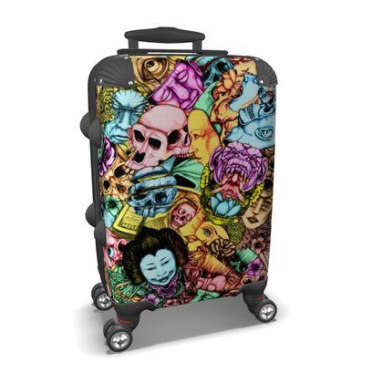 Men and Mutants Color Suitcase