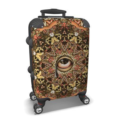Mandala eye 2 Suitcase