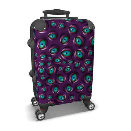 Eyes and more eyes Suitcase
