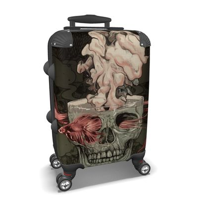 Red Fish Suitcase