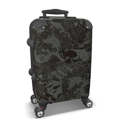 Wave Dark Suitcase