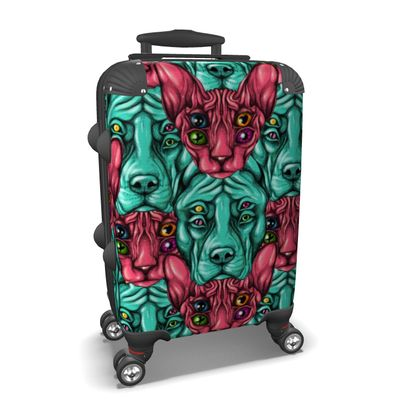 Cats and dogs Suitcase