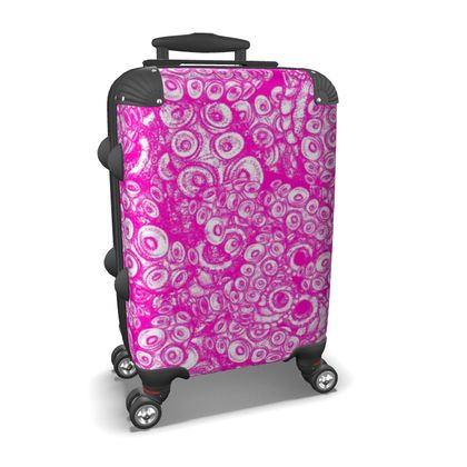 Pink Tentacles Suitcase