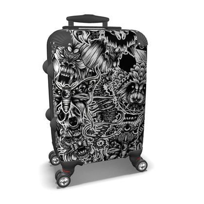 Floral Animals Suitcase