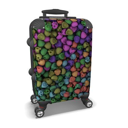 Skulls Suitcase