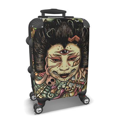 Geisha Flat Suitcase