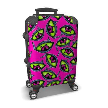 Melting Eyes Suitcase