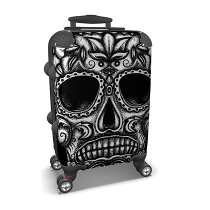 Candy Skull Suitcase
