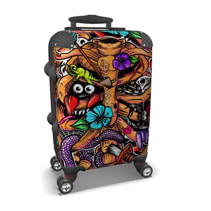 Doodle Bones Suitcase