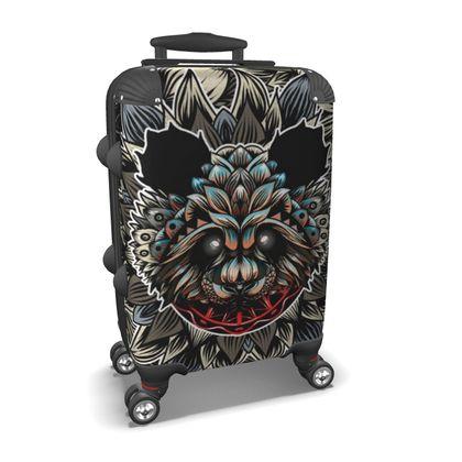 Floral Panda Suitcase