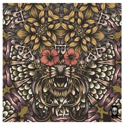 Floral Tiger Suitcase