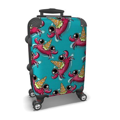 Cute Crab Suitcase