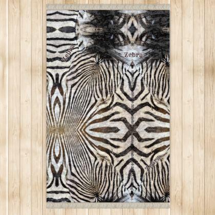 544,- Zebra Teppich 128 x 200 cm