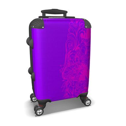 Wave Purple Suitcase