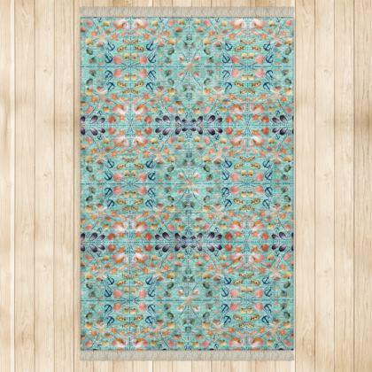 544,- Feinster #ninibing34 marmorierter Samt Teppich im klassischen ninibing34 Print 128 x 200 cm