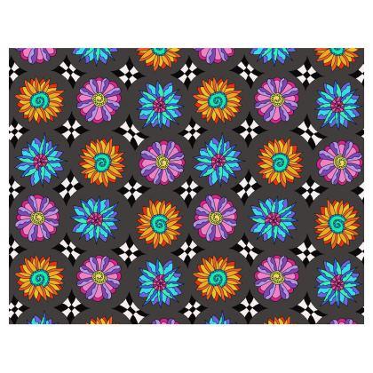 Victoriana - Large Handbag charcoal