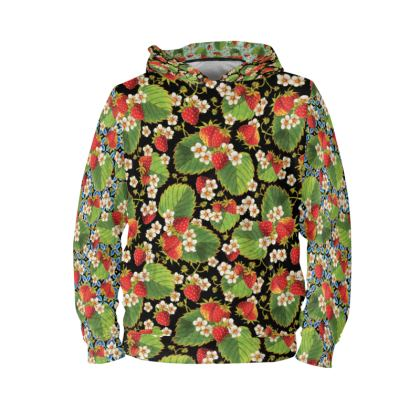 Strawberry Botanical 3 ways Hoodie