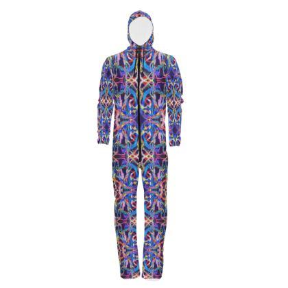 Ribbon Mandala Festival Designer Hazmat Suit