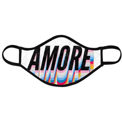 AMORE face masks pack of four