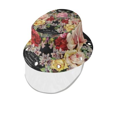 Nuit des Roses Bucket Hat and Visor