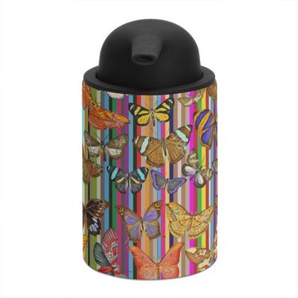 Rainbow Butterflies Soap Dispenser