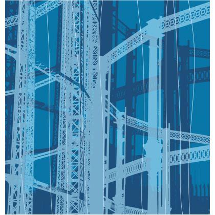 PACK - Reusable Face Mask / Geometric Gasometers Blue