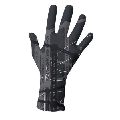 2 PAIRS PACK - Gloves / Geometrical Black