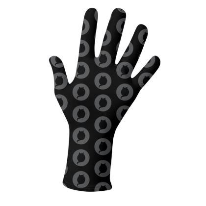 2 PAIRS PACK - Gloves / Black Logo