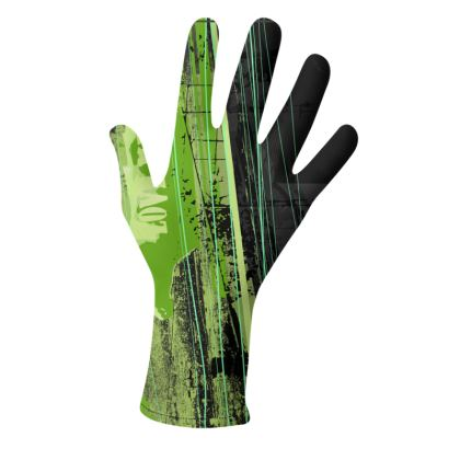 2 PAIRS PACK - Gloves / Black and Green