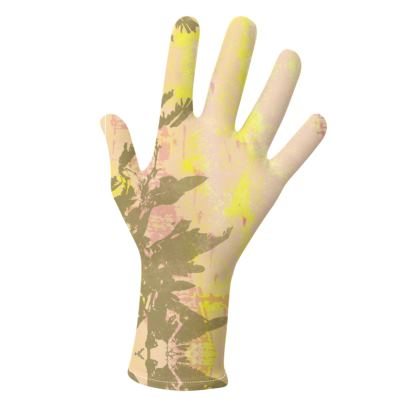 2 PAIRS PACK - Gloves / Leaves Pattern