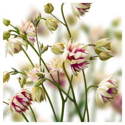 Aquilegia Luxury Cushion
