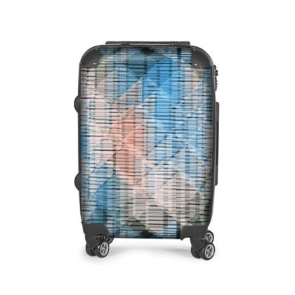 Geolia Print Suitcase