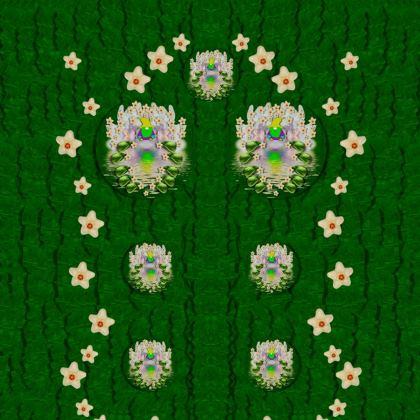 one island one gnome Kimono