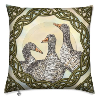 Celtic Geese Cushions