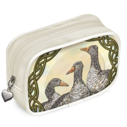 Celtic Geese Pouch Purse