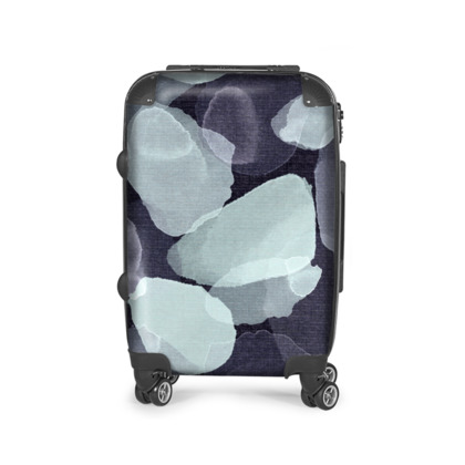Night Petals Suitcase