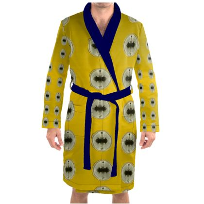 sunset over sea Dressing Gown